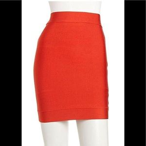 BCBG Mini Bandage Stretch Skirt